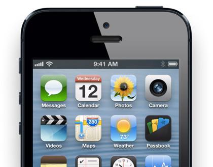 「iPhone 5」ソフトバンク、au共に日本国内での予約受付は16時から