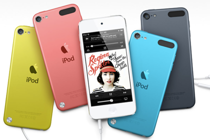 新しい「iPod touch」10月9日より発売開始