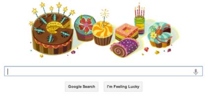 Google+のプロフィールに生年月日を入力すると誕生日にGoogleが特別なロゴでお祝いしてくれる!
