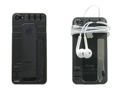 スタンド/USBメモリ/栓抜き‥‥十徳ナイフのようなiPhoneケース「ReadyCase」