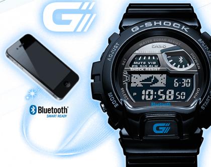 Bluetooth接続したiPhoneを置き忘れそうになったら教えてくれる「G-SHOCK GB-6900AA 」