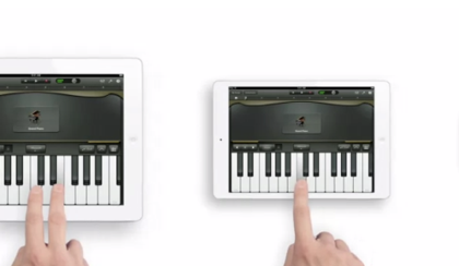 「iPad mini」のテレビCM「Piano」のパロディ動画が素敵