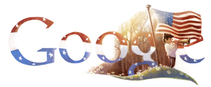 Googleロゴ「Veterans Day(復員軍人の日)」に
