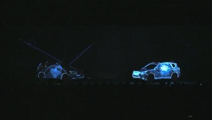 【動画】新車発表するスバル「フォレスター」のプロジェクションマッピングによる演出が凄い
