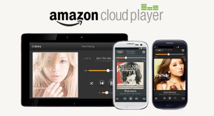 「Amazon Cloud Player」Amazon MP3ストアで購入した楽曲をクラウド経由でスマホ/タブレットで聴く