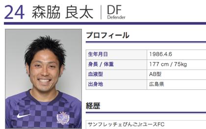 「サンフレッチェ広島」DF森脇良太、浦和レッズに移籍か?