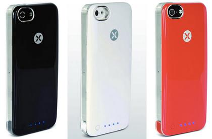 ラナのiPhone 5用バッテリ内蔵ケース「iPhone5専用バッテリー内蔵カスタムカバー」