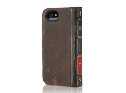 古い洋書のようなiPhone革ケース「BookBook for iPhone 5」Apple Store限定で販売開始