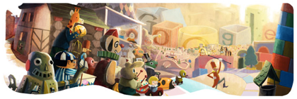 Googleロゴ「2012 年末」に