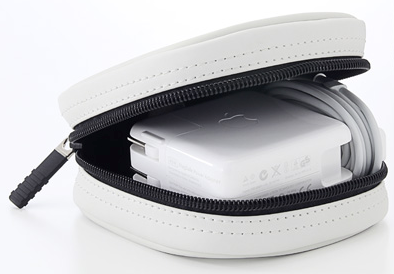 MacBook Air用電源アダプタがピッタリ入る専用ケース(200-IN036W)