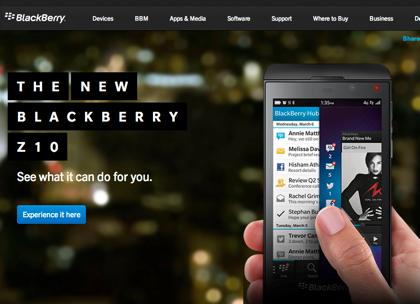 「BlackBerry」日本撤退か? → 「BlackBerry Z10」日本ではリリースされず