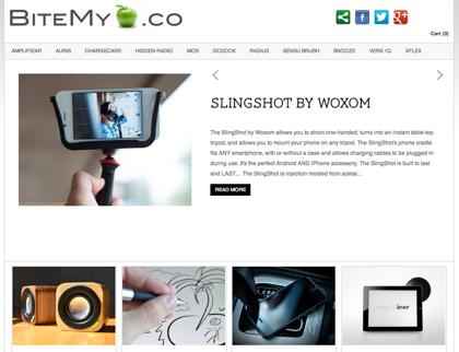 Kickstarterから生まれたApple関連アクセサリを紹介する「BiteMyApple.co」