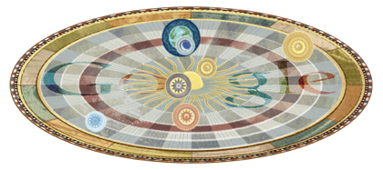 Googleロゴ「ニコラウス コペルニクス」に