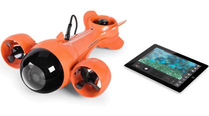 iPadで操作!カメラ搭載の潜水艇「Submarine Camcorder」