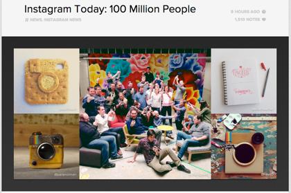 「Instagram」月間アクティブユーザが1億人を突破