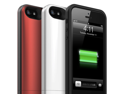 iPhone 5向けバッテリ内蔵ケース「Juice Pack Air for iPhone 5」