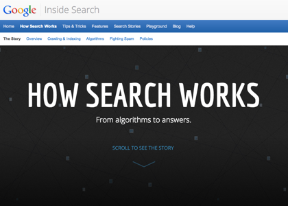 「How Search Works」Googleが検索の仕組みを紹介するインフォグラフィックス