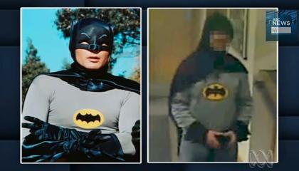 コスプレ「バットマン」名乗り出て顛末を語る!
