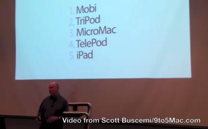 iPhoneの名称候補には「Telepod」「Mobi」「Tripod」「iPad」があったらしい!