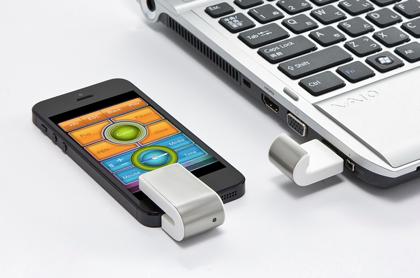 プレゼンで活躍!iPhoneをワイヤレスマウス化する「iPresenter」