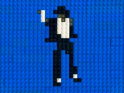 【動画あり】LEGOアニメ!マイケル・ジャクソンのダンスをストップモーションで再現