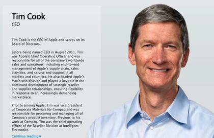 Apple、ティム・クックに代わるCEOを探し中!?