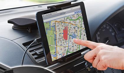 iPad mini/Nexus 7対応7インチタブレット車載ホルダー(200-CAR014)