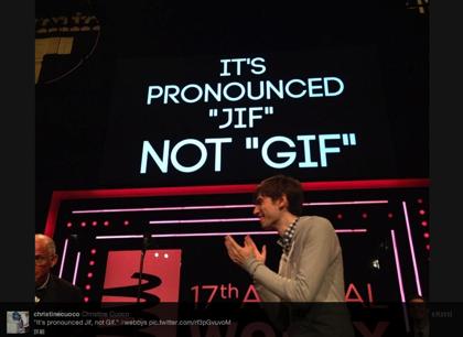 「GIF」の読み方 → × ギフ ○ ジフ