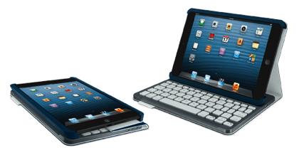 iPad mini用二つ折りキーボード「ロジクール キーボード フォリオ ミニ(TM720)」キーボードとしてもケースとしても便利そう!