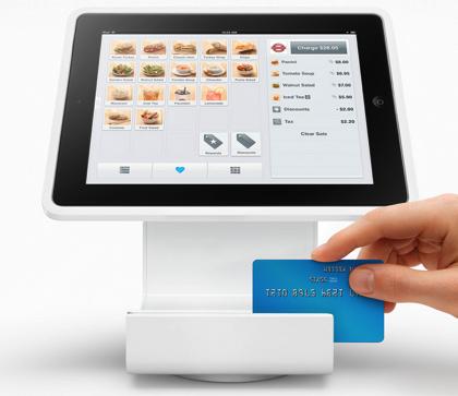 「Square Stand」iPadをSquareでスマートにレジ化するスタンド