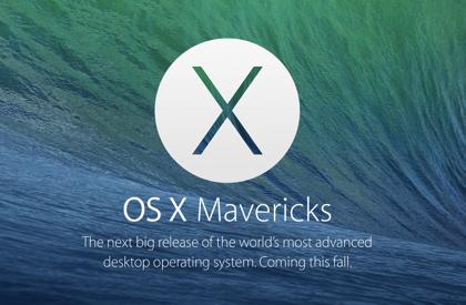 5分で分かる!Apple「OS X Mavericks」発表 → Finder Tabs、Safari高速化、iBook&MapをMacでも利用可能に