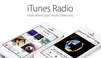 Apple「iTunes Radio」発表 → 無料の音楽ストリーミングサービス