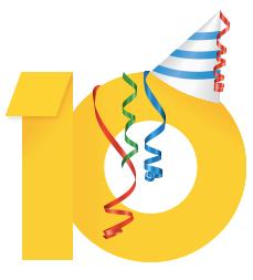 Google AdSense 10周年!管理画面でホッケーゲームのサプライズ
