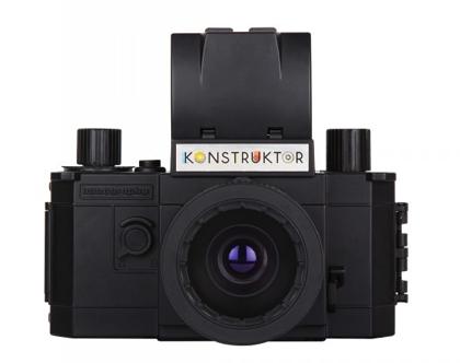 「Konstruktor(コンストラクター)」組み立て式で3,500円の銀塩一眼レフカメラ