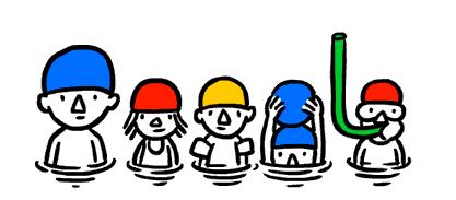 Googleロゴ「夏至」に(2013)