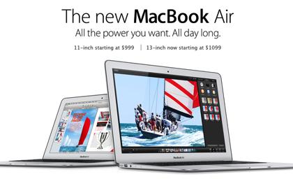 「MacBook Air (Mid 2013)」バッテリ駆動時間のテスト結果