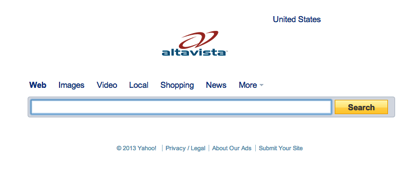 検索エンジン「AltaVista」終了へ