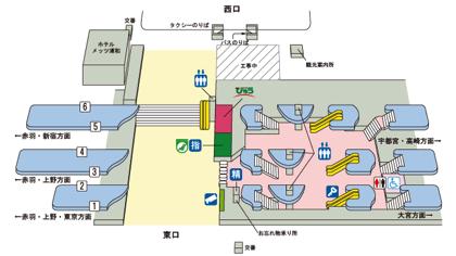 浦和駅開発、JR東日本が詳細計画を発表 → 西口に6階建て駅ビル、高架下は中央・北・南エリアで計画