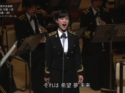 海上自衛隊の歌姫・三宅由佳莉、CDデビュー「祈り~未来への歌声」