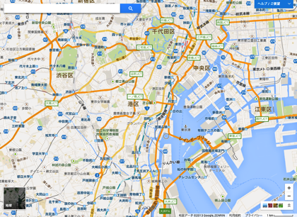 「Googleマップ」新しいインターフェースを誰でも利用可能に