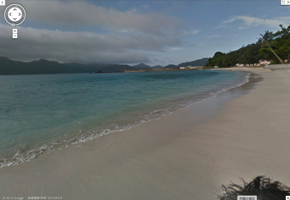 世界遺産・小笠原諸島のビーチがGoogleストリートビューで閲覧可能に