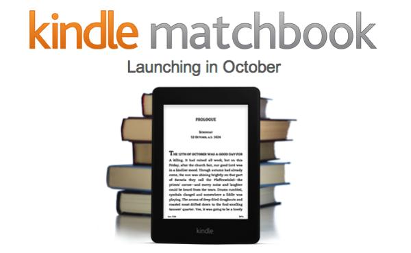 Amazon「Kindle MatchBook」紙の書籍購入者に無料または安価で電子版を販売へ