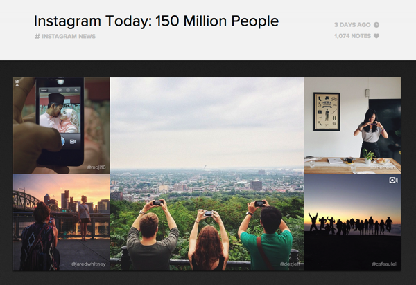 「Instagram」月間アクティブユーザが1億5,000万人を突破