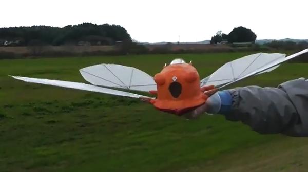 【動画あり】ラピュタの飛行機「フラップター」を再現したラジコンが凄い