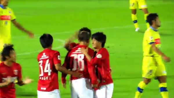 浦和レッズ・邦本宜裕、16歳8日のデビュー戦(天皇杯)でゴールを決める!