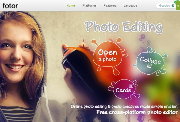 オンラインで写真編集ができる「Fotor」コラージュやHDR写真も可能