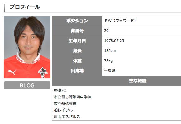 ロアッソ熊本・北嶋秀朗、現役引退を発表