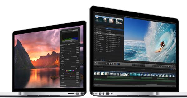 「MacBook Pro Retina」アップデート → バッテリ駆動時間がより長く