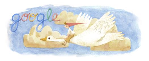 Googleロゴ「セルマ ラーゲルレーヴ」に