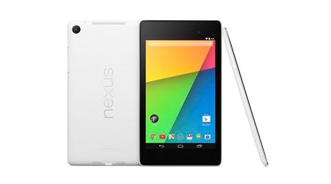 「Nexus 7(2013)」ホワイトモデルが登場